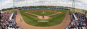 Het stadion van Vaessen Pioniers was de locatie voor de vijfde All Star Game.