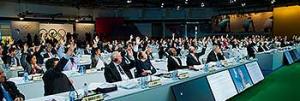 IOC-leden stemmen over de wijzigingen uit de Olympic Agenda 2020.