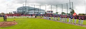 Sportpark De Paperclip in Utrecht was voor de derde keer het decor van de All Star Game.