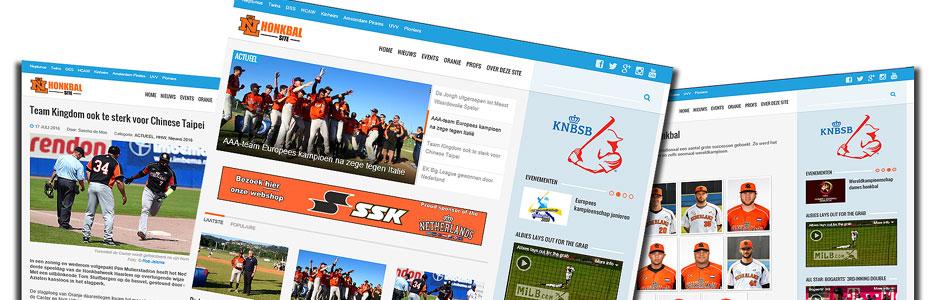 Nieuwe website voor het laatste honkbalnieuws